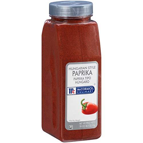 McCormick Culinary Hungarian Style Paprika, 18 oz