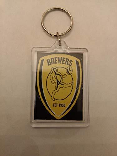 Burton Albion FC Football Key Ring