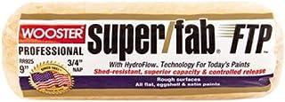 فرشاة ووستر rr925–مقاس 9بوصات Super Fab ftp غطاء الدوارة ، أكمام 3/4سم لواجهة Nap