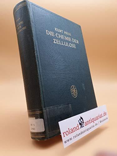 Die Chemie der Zellulose und ihre Begleiter , von Kurt Hess, mit einem Beitrag :, Micellartheorie und Quellung der Zellulose, von J. R. Katz, und einem Anhang : Das färberische Verhalten der Baumw ...