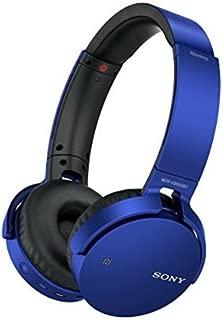 Sony MDRXB650BT/L Extra Bass Bluetooth Headphones, Blue