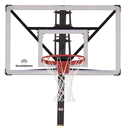 Silverback NXT 54' In-Ground Basketball Hoop with Adjustable-Height...
