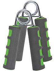 Schildkröt Fitness handspiertrainer set van 2, antraciet-groen, in blisterverpakking, 960022