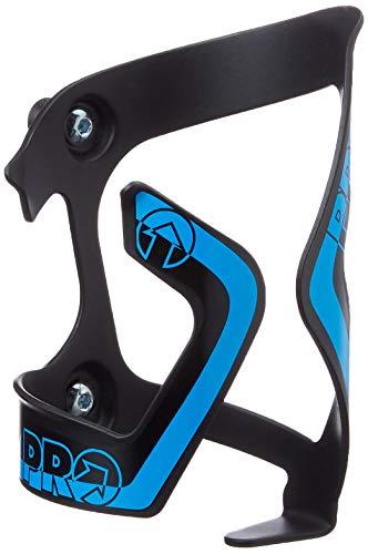 Pro zijstandaard aluminium IZQ reservedrager voor fietsendrager, volwassenen, unisex, meerkleurig (zwart/blauw), eenheidsmaat