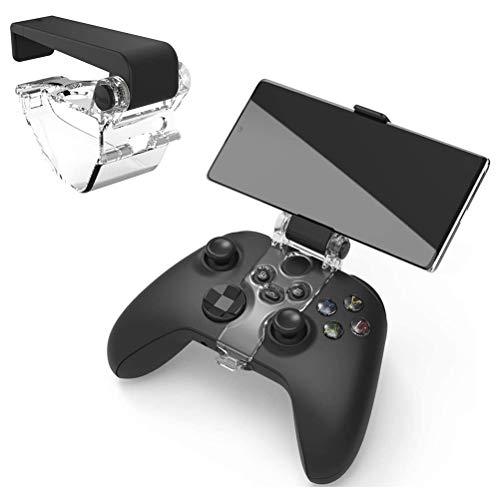 Kylewo Xbox SX Controller Phone Mount,Faltbarer Handyhalter für Gamecontroller Telefonclip für Gamepad-Controller Tragbarer Smartphone Halter für Xbox Series S/Xbox Series