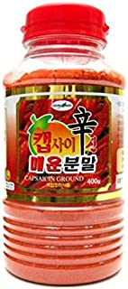 Chungwoo Coreano Food_Chungwoo_Capsaicin ají Powder_14.1oz (400g) _Hot picante aderezo de salsa coreana