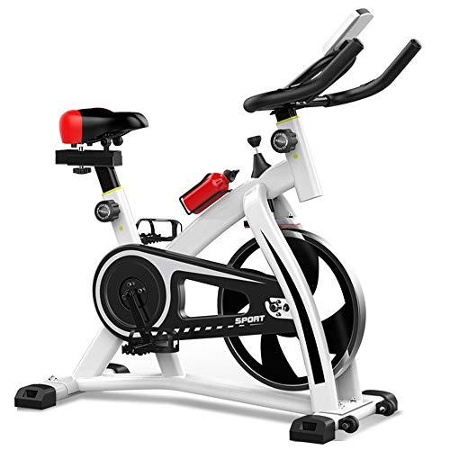 Bicicleta de Ejercicio Fitness Ciclismo Indoor vertical bicicleta estática ultra silencioso de bicicleta de ejercicios de carga que soportan 200 kg Gimnasio en casa ejercicio aeróbico Bicicleta Estáti
