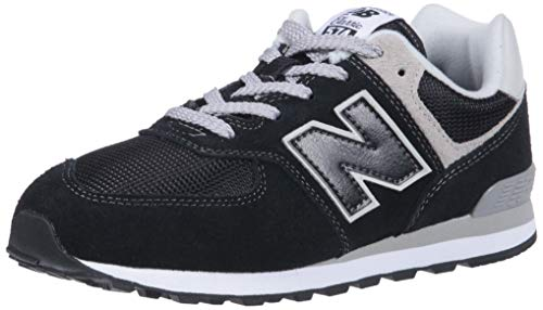 New Balance Pc574v1, Unisex-Kinder Sneaker, Schwarz (Black/grey), 29 EU (11 UK)
