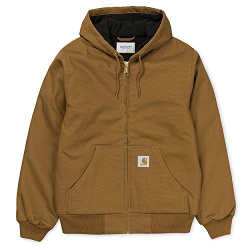 Carhartt I023083 Active Jacket Giacca Invernale Uomo Hamilton Brown (XL)