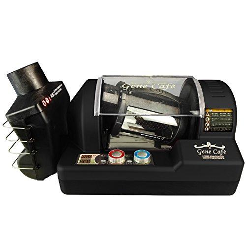 ac220-240v 50-60hz 320g coffee bean roaster con funzione timin caffè... macchina / caffè torrefatto semi / i chicchi di caffe '... (black)