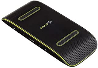 Soundflow Soundboard Wireless Portable Speaker presto, no pairing, no wires, no setup! (SP20BKGR in black and lime green) photo