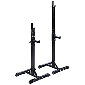 duoyouduo L-230 Home Gym Use Multifunctional Fitness Equipment Squat Rack for Weightlifting Benching Training