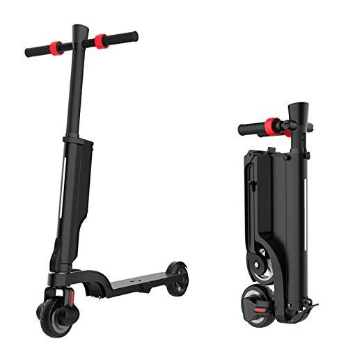 """Scooter Eléctrico Inteligente De Velocidad Ajustable De 24 V para Adultos, Bicicleta Eléctrica Plegable Portátil para Niños Y Adolescentes De 350 W, Scooter Eléctrico Unisex con Llanta De 5.5"""""""