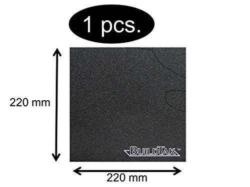 BuildTak Druckbett-Beschichtung 3D-Drucker Dauerdruckplatte Größe je nach Wahl (220x220mm BT220x220)