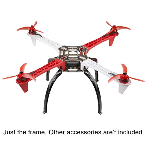 Crazepony F450-V2 Drone Frame Kit 4-Axis Airframe 450mm Quadcopter Frame Kit with Landing Skid Gear