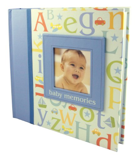 Jomoval C.R. Gibson 23cm x 22.5cm Baby Photo Album B is for Boy With...