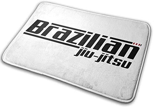 LDHHZ Brasileño Jiu Jitsu - Felpudo antideslizante para baño (40 x 60 cm)
