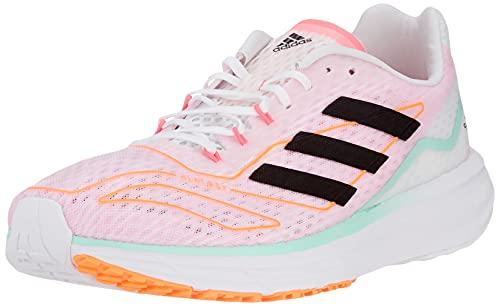 adidas SL20.2 Summer.Ready W, Zapatillas de Running Mujer, FTWBLA/NEGBÁS/MENCLA, 39 1/3 EU