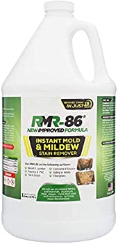 RMR-86 Instant Mold and Mildew Stain Remover Spray - Scrub Free Formula Bathroom Floor and Shower Cleaner 1 Gallon  128 Fl Oz