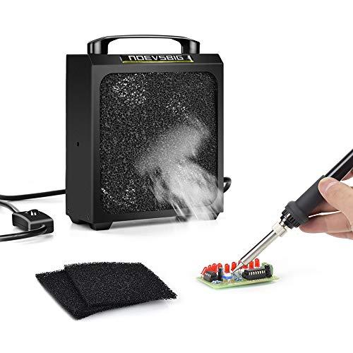 Big Solder Smoke Absorber NO-SE001 Remover Fume Extractor DIY Working Fan for Soldering