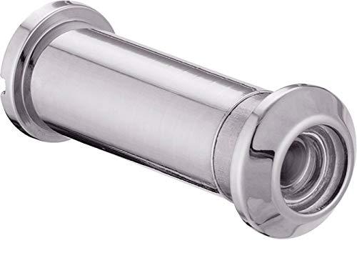 ToniTec Türspion Spion für 60-85 mm Türblätter Weitwinkel Messing PVD Chrom Poliert