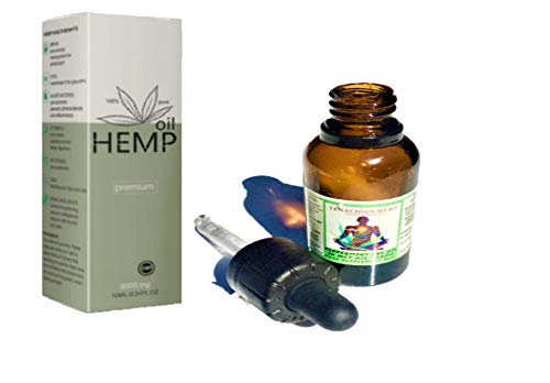 30ml Extra Large Organic Hemp Oil Drops - 29700mg 10% UK