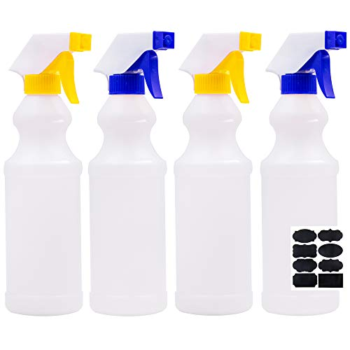 Youngever Plastic Spray Bottles Leak Proof Spray Bottles For Cleaning Solution
