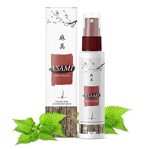Asami Haarwuchs Anti Haarverlust Glänzendes Haar 50ml - Original-Produkt