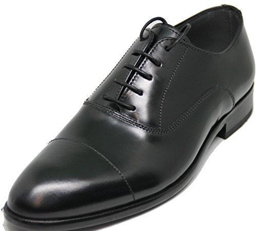 2964. Lottusse. Zapato Estilo Oxford, Piel de Becerro rectificado Brillante de Primera...