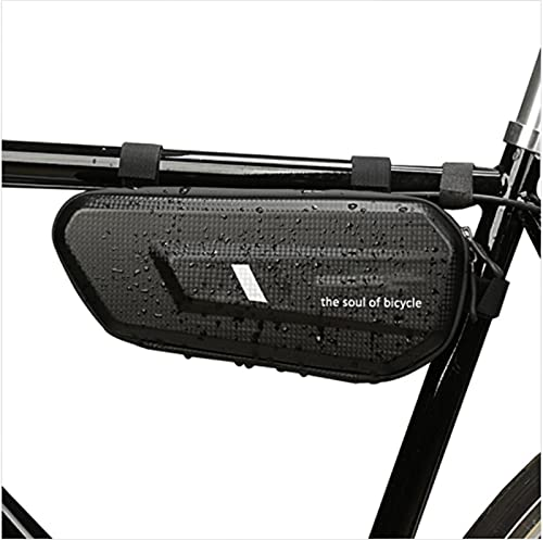 woyada Bicicletas Triángulos Marcos Bolsas Hard Shell Almacenamiento Bolsa Impermeable Kit de Herramientas de Equitación Accesorios para Bicicleta de Montaña