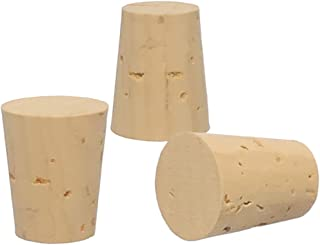 Cork Stoppers, Size 1, XXX Quality, Karter Scientific 26A4 (Pack of 25)