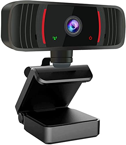Webcam with Microphone for Desktop, Peteme 1080P HD USB Web Cameras, Computer Camera for Laptop,Plug and Play Webcam and Stereo Microphone for Zoom Video Calling Recording Gaming Conferencing