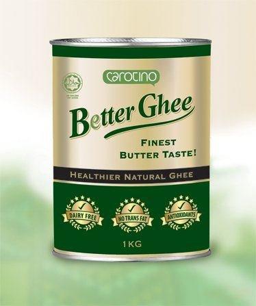 Carotino - Better Ghee - Ghee natural más saludable - LIBRE DE LECHE - 1KG