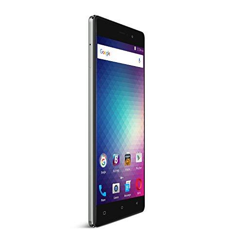 "BLU VIVO 5R -Smartphone libre 4G LTE de 5.5"" -Gris"