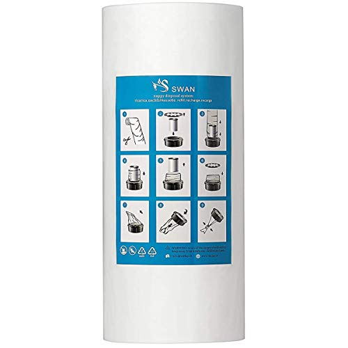 250 m Recarga compatible con Tomme Tippe Tec, Twist & Click, Simplee, minimizar los olores (250m sin tubo)