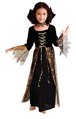 La Vogue Fille Sorcière Vampire Araignée Robe Costume Déguisement Carnaval Cosplay Halloween Size2