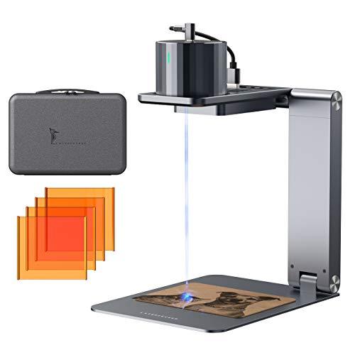 LaserPecker Pro incisore laser Mini Strumenti per incisione laser portatile, macchina per incisione laser compatta con occhiali protettivi, stampante laser per incisore laser per fai da te