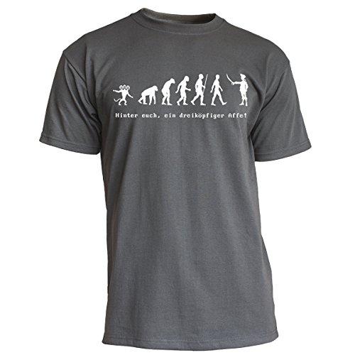 Nukular T-Shirt Monkey Island Evolution, Farbe Graphit, Größe M