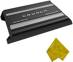 Crunch 1500 Watt 2 Channel Bridgeable Amplifier - 1500W Dual-Channel Class A/B Mono Bridge Amplifier