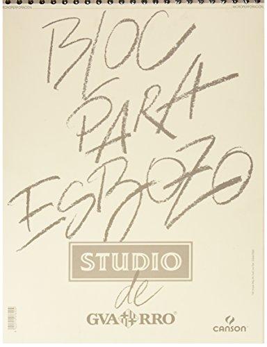 Álbum Espiral Microperforado, A3, 100 Hojas, Guarro Esbozo, Grano Fino 90g
