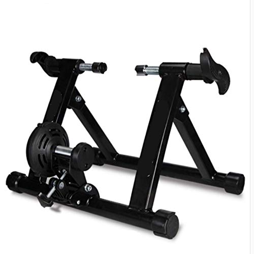 YANG WU Bicycle Training Device, Mountain Bike Indoor Foldable Wireless Magnetic Resistance Training Device, Indoor Home Fitness Training Platform