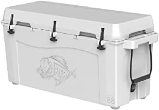 Taiga Coolers Leak Proof 88 Quart White Cooler with Heavy R5 Insulation