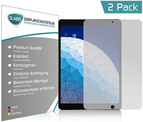 Slabo 2 x Bildschirmschutzfolie für iPad Pro | iPad Air (10,5