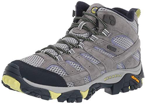 Merrell Women's Moab 2 MID Waterproof Hiking Shoe, Navy Morning, 08.5 M US
