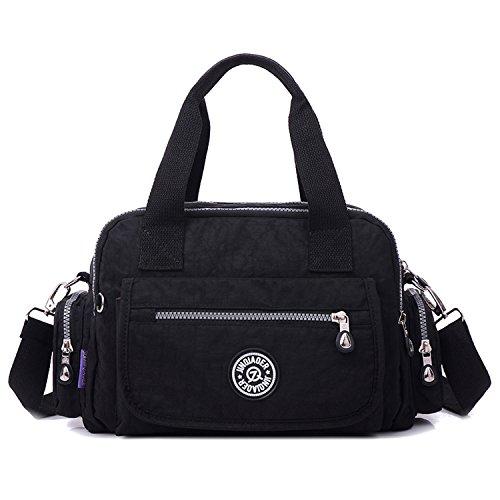 Outreo Handtasche Damen Umhängetasche Leichter Kuriertasche Mode Lässige Schultertasche Wasserdicht Taschen Designer Messenger Bag Reisetasche