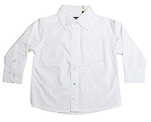 Blue Seven Jungenhemd reines Weiß, weiss, 68