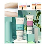 Gel Cream Hair Remover, crema depilatoria sensible para todo el cuerpo Hombres Mujeres (Con crema reparadora de poros)