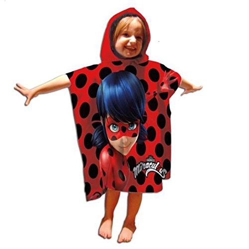 Poncho toalla Prodigiosa Ladybug ⭐