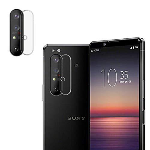 VIESUP Phone Camera Screen Protector for Sony Xperia 1 ii - [2PACK] High Clear Anti-stratch Screen Camera Lens Soft Film for Xperia 1 II Phone
