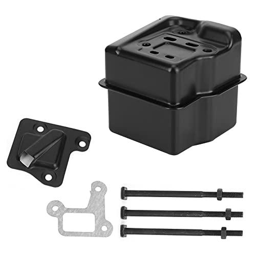 KUIDAMOS Reemplazo del silenciador, silenciador de Escape de Alta dureza Duradero Resistente a la corrosión para STIHL MS310 MS290 MS390 029039